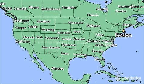 map of us states boston where is boston ma where is boston ma located in the