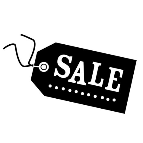 Tad Ransel Black Top Sales shop window sale sticker in the style of a cothing tag label