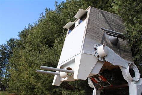 star wars house star wars in your backyard the perfect tree house for fans