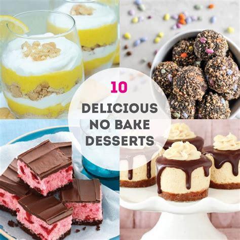 10 of the best no bake dessert recipes