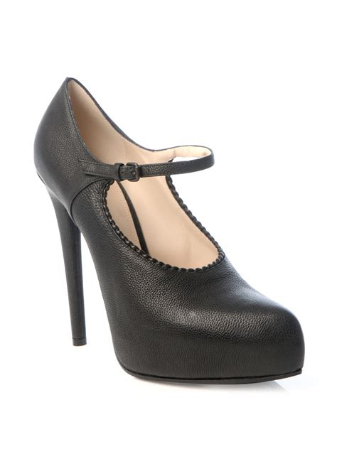 high heel janes shoes bottega veneta high heel shoes in black lyst