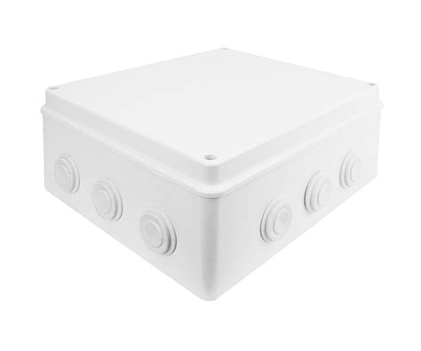 Junction Box 88x88x47mm Ip55 white black ip55 ip65 waterproof joint outdoor cctv