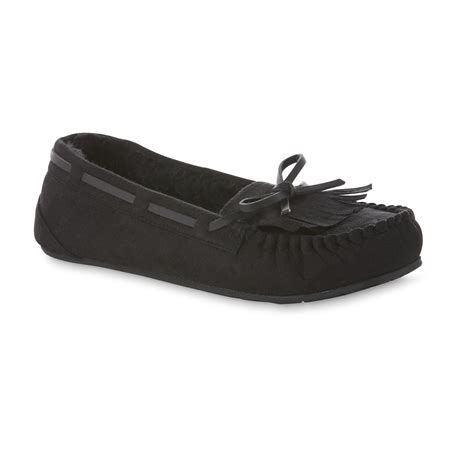 route 66 slippers route 66 s taya black moccasin slipper