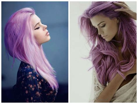 faded colour hairstyles purple hair colors that actually look good hair world