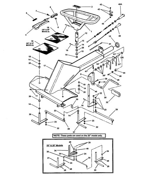 snapper mower parts diagram front end steering diagram parts list for model
