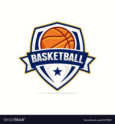 100 Basketball Logo Royalty Free Vector Image Vectorstock Basketball Logo Icon Streetball Basketball Team Logo Template