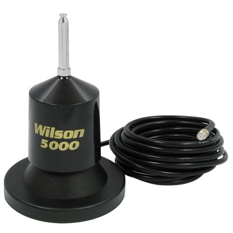 wilson antennas w5000 series magnet mount mobile cb antenna kit with 62 5 quot whip