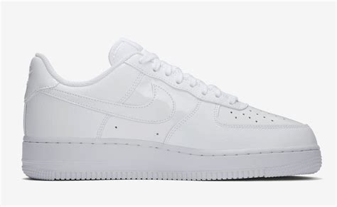 Nike Air 1 Low Leather All White nike air 1 low patent leather pack sneaker bar detroit