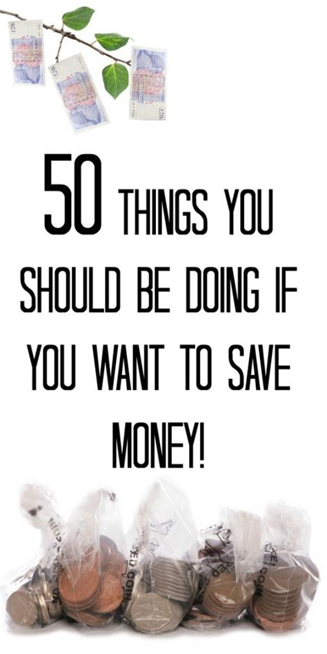 50 ways to save money the diary of a frugal family