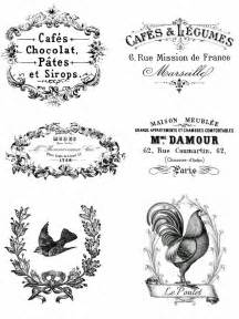 shabby chic decals vintage advert shabby chic 6 x transfers or sticker