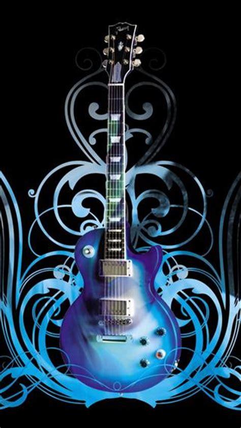 wallpaper guitar blue fonds d 233 cran gratuits sur pc astuces
