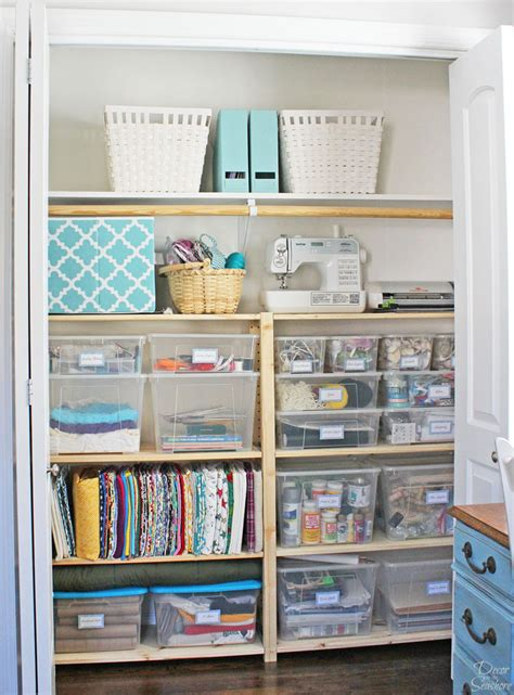cheap easy closet organization with ivar shelves
