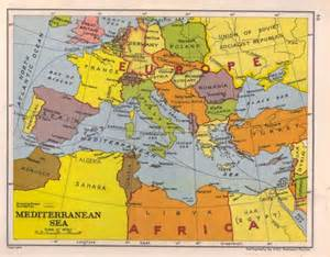 Mediterranean Sea On World Map by Mediterranean Sea On World Map Images