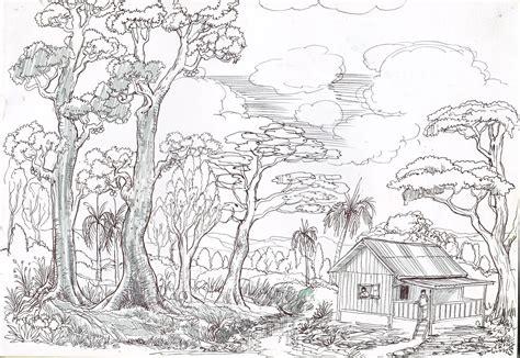 contoh gambar sketsa 28 images about my contoh gambar sketsa pemandangan drawing experience