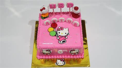 permainan membuat kue ulang tahun hello kitty hello kitty cake cara membuat kue ulang tahun kue ultah