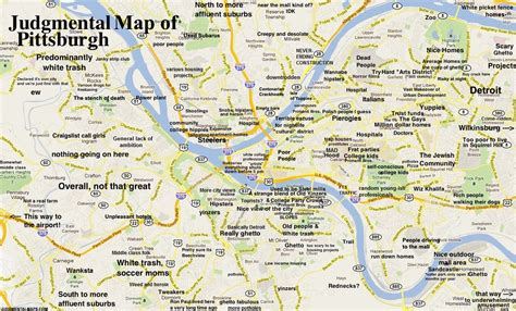 pittsburgh pa map judgmental maps pittsburgh pa by haterburgh copr 2014