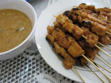resep membuat bakso vegan menu vegetarian resep sate tahu dan tempe bumbu panggang