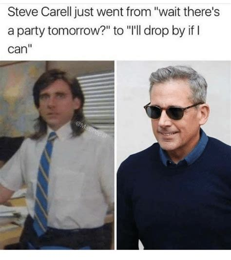 Steve Carell Memes - steve carell just went from wait there s a party tomorrow