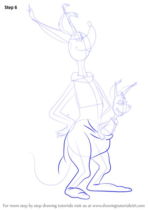 sour kangaroo coloring page learn how to draw sour kangaroo from horton hears a who