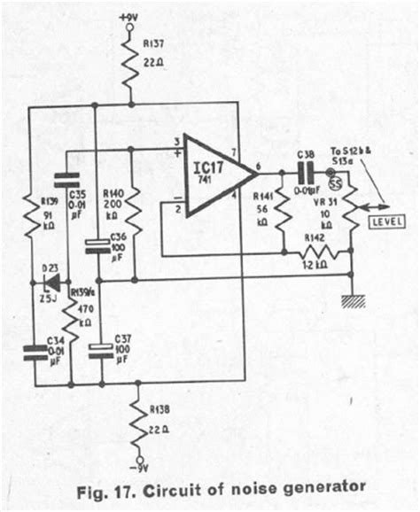 zener diode noise zener diode noise generator 28 images index 130 signal processing circuit diagram seekic