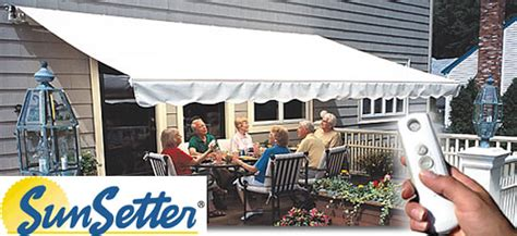 sunnc awnings website sunsetter awnings
