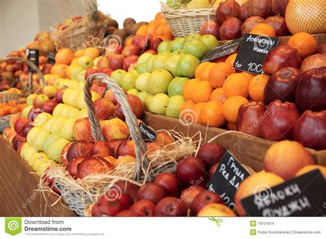 Shelf Of Fruit by Shelf With Fruits Stock Images Image 19131614