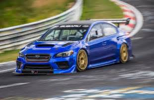 Subaru Wrx Turbo Subaru Wrx Sti Type Ra Sets New Nurburgring Record