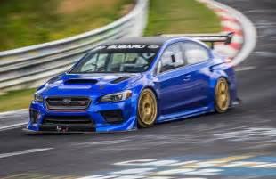 Subaru Impreza Sti Subaru Wrx Sti Type Ra Sets New Nurburgring Record