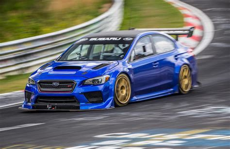 subaru si subaru wrx sti type ra sets new nurburgring record