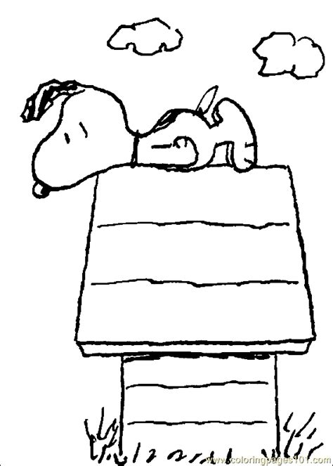 Coloring Pages Snoopy Coloring Page 13 Cartoons Gt Snoopy Snoopy Coloring Pages Free