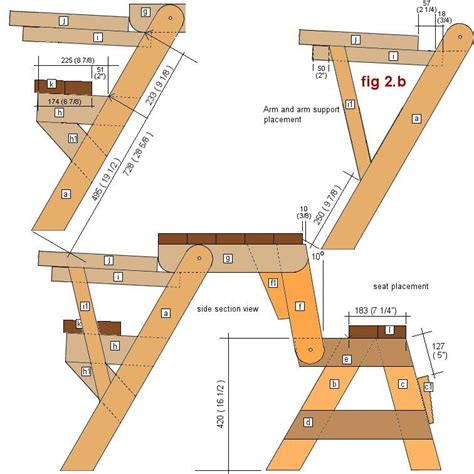 1 Folding Picnic Table Plans Furniture