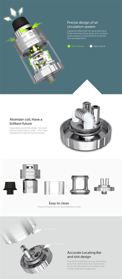 K59 Obs Engine Rta 25mm Replacement Glass 25 Vape Kaca Pengganti G best site to buy obs engine nano rta tank with free shipping