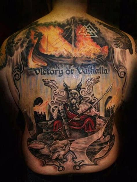 victory or valhalla tattoo tats pinterest tattoos