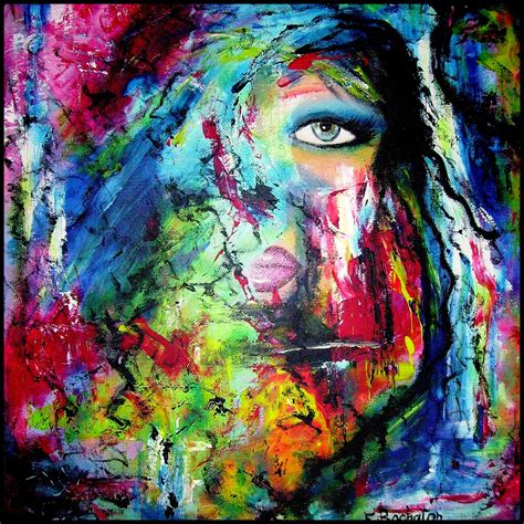 acrylic paint artist abstract acrylic painting ideas