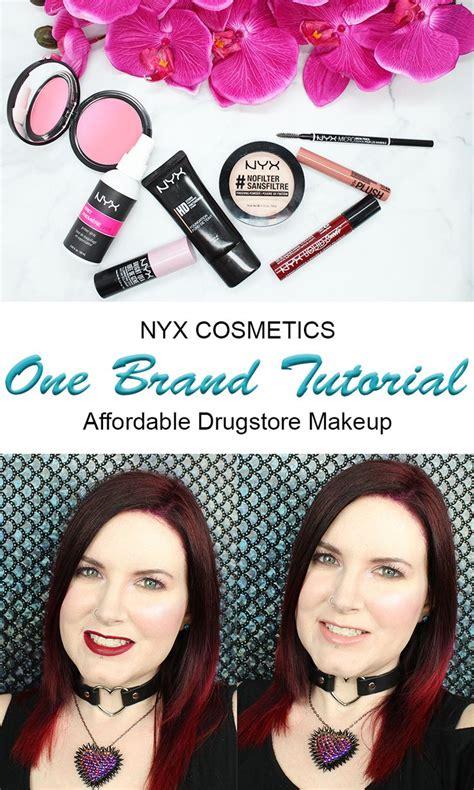 tutorial makeup nyx indonesia one brand drugstore tutorial nyx cosmetics nyx nyx