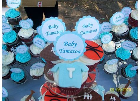 Sports Theme Baby Shower Cake by Sports Theme Baby Shower Cupcakes Cakecentral