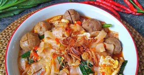resep mie tiaw bumbu seblak enak  sederhana cookpad