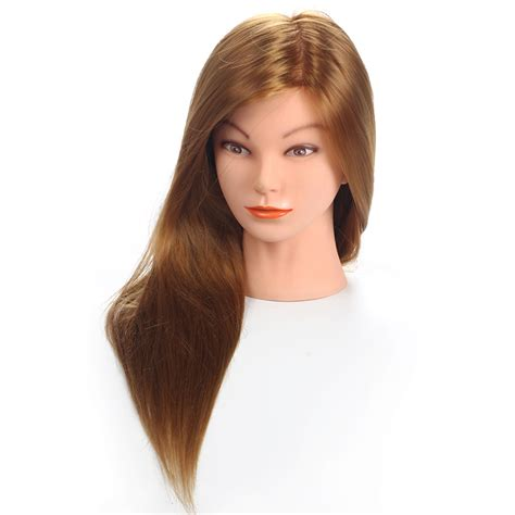 Hair Mannequin Heads For Sale by 20 Quot Mannequin Hair Synthetic Mannequin Hairdressing