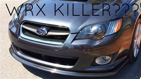 2008 Subaru Legacy Review by 2008 Subaru Legacy Gt Review Wrx Killer