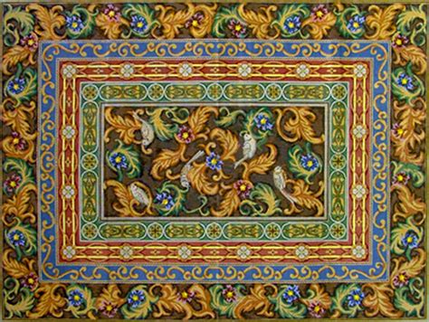 Rug Canvas by Needlepointus World Class Needlepoint Borders Rug