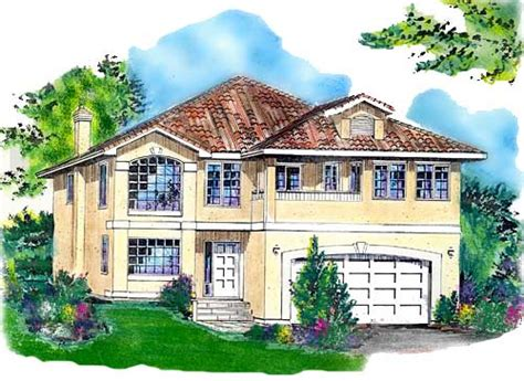 sunbelt house plans sunbelt style house plans 1839 square foot home 2 story 3 bedroom and 2 bath 2