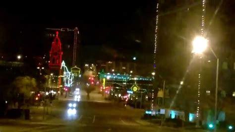 kansas city christmas lights country club plaza youtube
