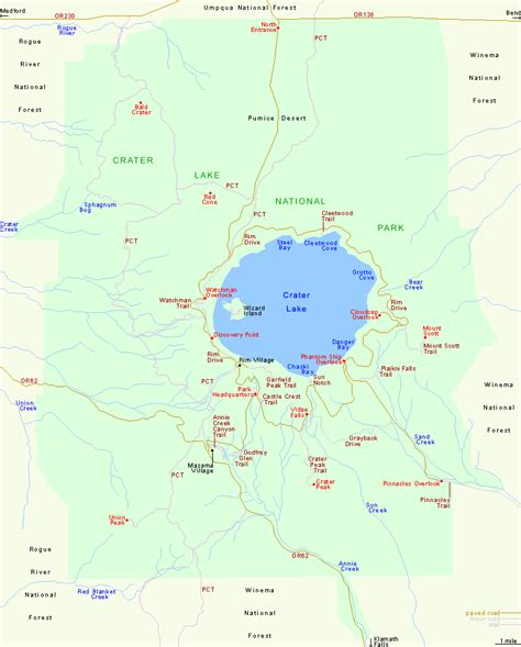 map of oregon lakes crater lake map oregon oregon map