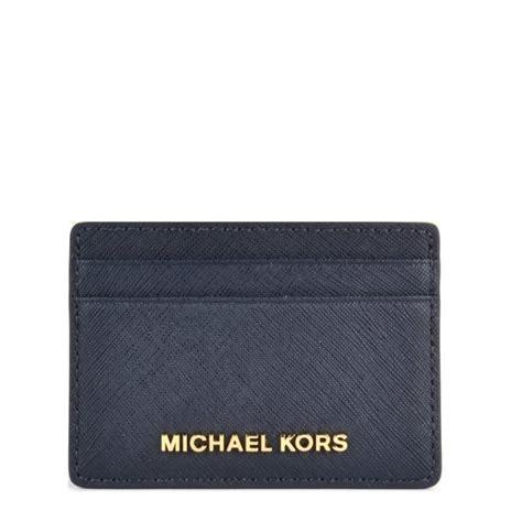 Navy Set Cardi michael michael kors jet set admiral navy card holder