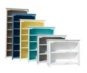 painted wood bookcases 36 quot w 13 quot d in heights 30 quot 84