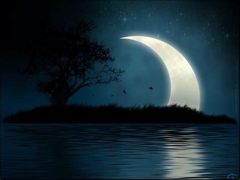 imagenes de paisajes en la noche fonditos noche tranquila 2d paisajes dibujos naturaleza
