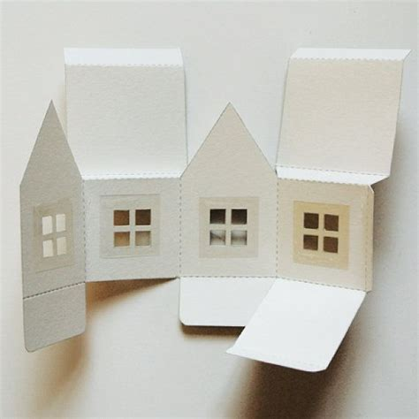 House With Paper - popup paper house by makeanything on etsy picmia