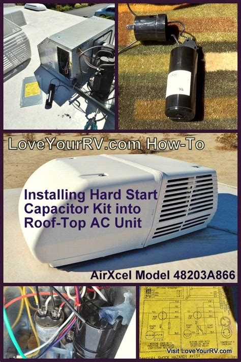 start capacitor kit rv ac installing start capacitor into my rv air conditioner