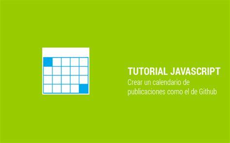 laravel highcharts tutorial crea un calendario de publicaciones como el de github
