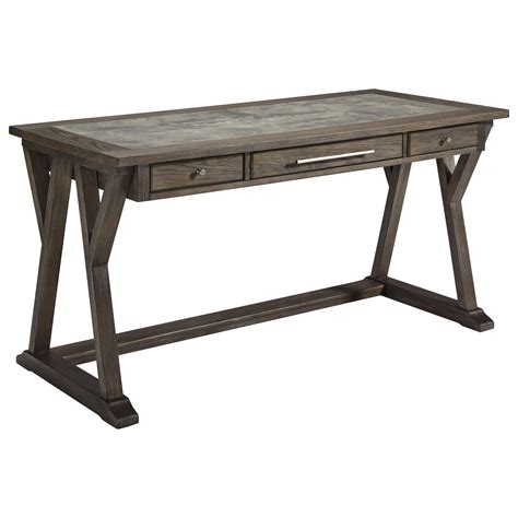 signature furniture desk signature design by luxenford relaxed vintage home